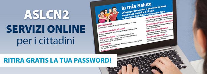 ASL CN2: servizi online per i cittadini