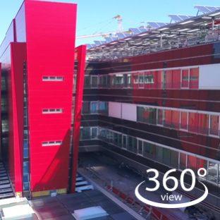 Il tour virtuale del Nuovo Ospedale direttamente da casa tua